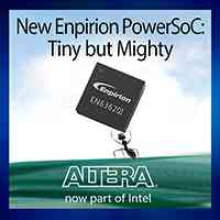 Altera PowerSoC DC-DC Step-down Converter Delivers Industry-leading Power Density, Performance and Reliability