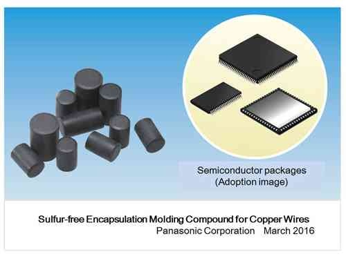 Panasonic Commercializes the Industry's First*1 Sulfur-free Encapsulation Molding Compound for Copper Wires