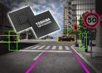 Toshiba Image Recognition Processor Delivers Advanced Functionality for Monocular Cameras in ADAS Applications
