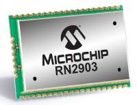 Microchip Launches New LoRa® Module Designed for North American Low-Power Wide-Area Networks (LPWAN)