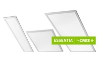 Cree Announces Essentia LED Flat Panel Troffer and Track Light Product Lines