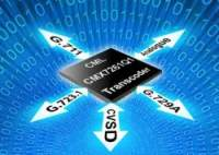 CMX7261 single chip, Full-duplex/Half-duplex Multi-transcoder IC offering G.711, G.729A, G.723.1 and CVSD