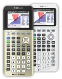 Go for gold with a new limited-edition, metallic graphing calculator