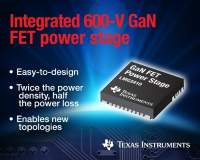 Revolutionize high-performance power conversion with TI's 600-V GaN FET power stage