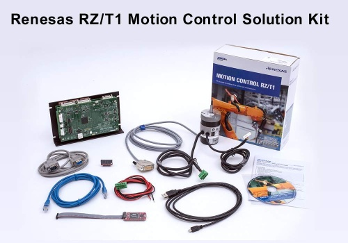 Renesas Electronics Simplifies Industrial Drives and Robotics Systems Development with New RZ/T1 Motion Control Solution Kit