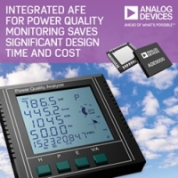 Highly Integrated AFE for Power Quality Monitoring Saves Significant Design Time and Cost Versus Custom Development