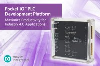 Maximize Productivity for Industry 4.0 Applications with Maxim's Pocket IO™ PLC Development Platform