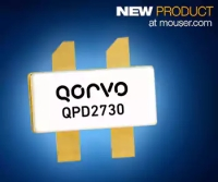 Mouser Now Shipping Qorvo QPD GaN Transistors, Ideal for Radar and Radio Communications