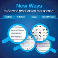 Mouser Electronics Debuts Simple Navigation of Hundreds of Thousands of Product Datasheets for Design Engineers