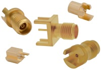High Frequency RF Edge-Mount Connectors