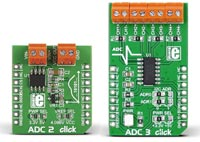 ADC2 and ADC3 Click Boards