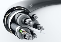 Hradil high-endurance cable with a nominal voltage of up to 6/10 kV for the toughest conditions.