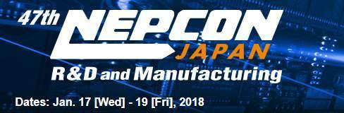 NEPCONJapan,Tokyo,17.-19.1.2018