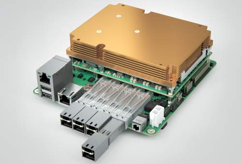 Новаямодульнаянесущая10GbEмикросервернаяплатаоткомпанииcongatecвформ-фактореMini-STX