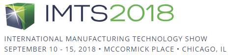 IMTS2018, Chicago, IL, 10.-15.9.2018
