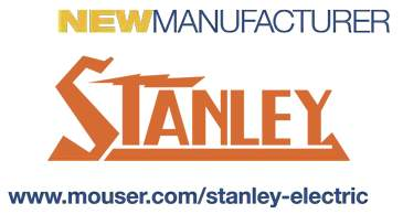 Mouser Electronics and Stanley Electric Sign Global Distribution Agreement