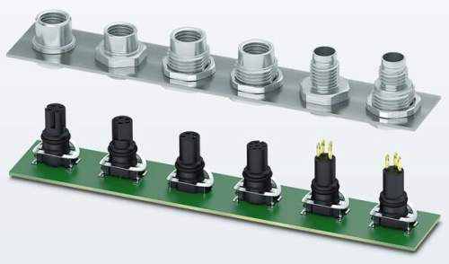 M8 SMD Field Device Connectors