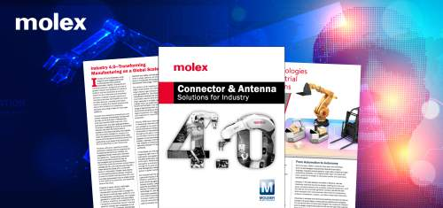 New eBook from Mouser Electronics and Molex Highlights Next-Generation Connectivity Solutions for Industry 4.0