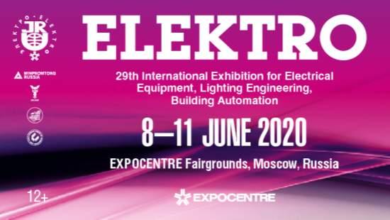 ELEKTRO2020,MOSKVA,Rusko,8.6.-11.6.2020