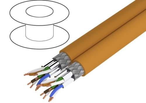 PrimeLine S/FTP Cat 7a cables by Logilink