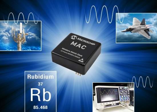 Next-GenerationMiniaturizedRubidiumAtomicClockImprovesPerformanceandaddsFeatureswithoutIncreasingSize
