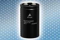 Aluminum electrolytic capacitors: Compact design with high ripple current capability