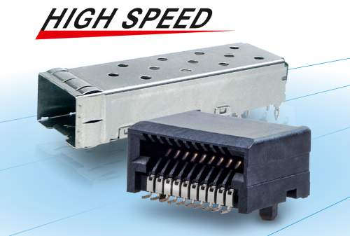 SFP28 High-Speed Connector for Data Networking Optical Transceiver Applications