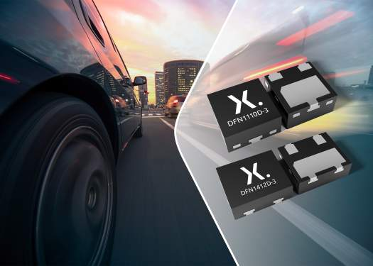 Nexperia delivers widest range of AEC-Q101 discretes in miniature, leadless rugged DFN packages