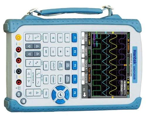 DSO1000B series handheld oscilloscopes by Hantek