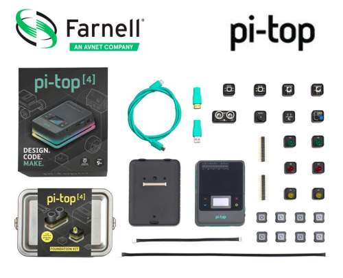 Farnell Launches All-in-One pi-top [4] Computer to Support STEM Learning