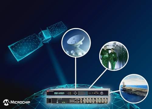 MicrochipIntroducesFirstTimeandFrequencyInstrumentwithEmbeddedGlobalPositioningSystem(GPS)M-CodeReceiver