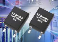 Toshiba's New Photorelays with Low Trigger Current Contribute to Low Power Consumption in Battery-Powered Equipment