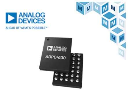 MouserNowStockingAnalogDevices'ADPD4100&ADPD4101MultimodalSensorFrontEndsforIndustrialMonitoring