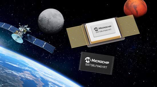 Microchip Adds 64 Mbit Parallel SuperFlash® Memory to its Family of Radiation-Tolerant COTS-Based Devices for Space Systems