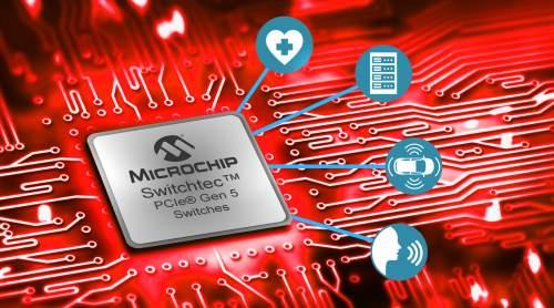 MicrochipAcceleratesMachineLearningandHyperscaleComputingInfrastructurewiththeWorld'sFirstPCIExpress®5.0Switches