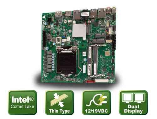 FlatMiniITXmotherboardforCometLakeprocessors