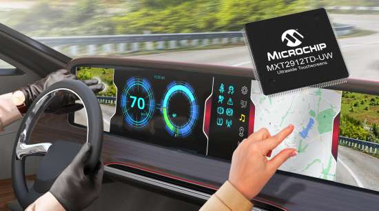FirstAutomotive-Qualified,Single-ChipSolutionforLarge,UltrawideTouchDisplaysNowAvailable